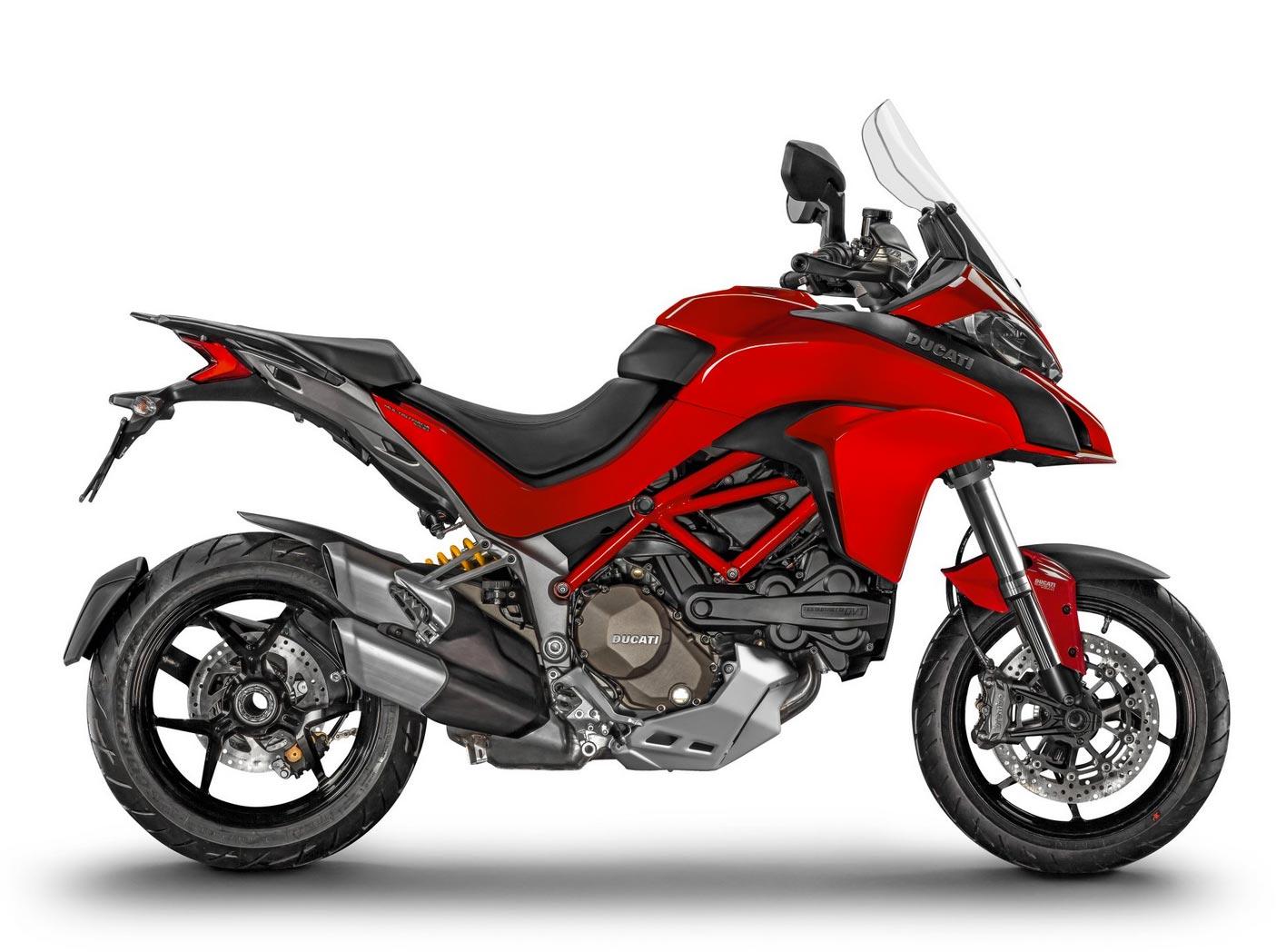 Ducati Multistrada 1200 ABS 2015 Rot