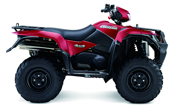 Suzuki KingQuad LTA750 2015 in matt-rot