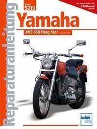 Bd. 5219 Reparatur-Anleitung YAMAHA XVS 650 Drag Star (ab 1998)