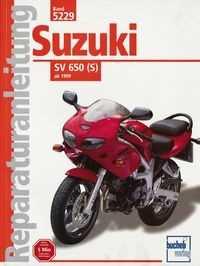 Bd. 5229 Reparatur-Anleitung SUZUKI SV 650 S (ab 1999)