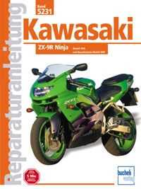 Bd. 5231 Reparatur-Anleitung KAWASAKI ZX 9-R (ab 1998)