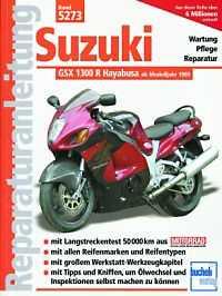 Bd. 5273 Rep.-Anleitung SUZUKI GSX-R1300 Hayabusa