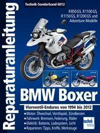 Bd. 6012 Reparatur-Anleitung BMW Boxer Vierventil-Enduros 1994-2012