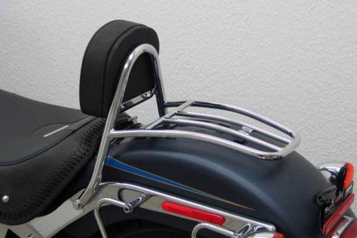 Fahrer Sissy Bar HD Softail FLSTF Bj.07