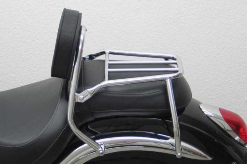 Fahrer Sissy Bar Kawasaki VN 900 Classic 2006-