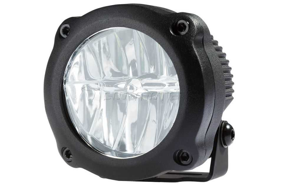 HAWK LED Nebelscheinwerfer-Set Schwarz. KTM 990 SMT.