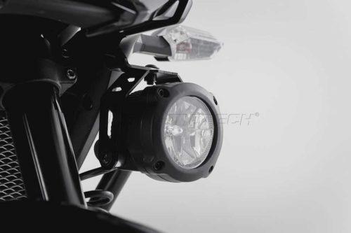 HAWK LED Nebelscheinwerfer-Set Schwarz. Kawasaki Versys 650 (15-).