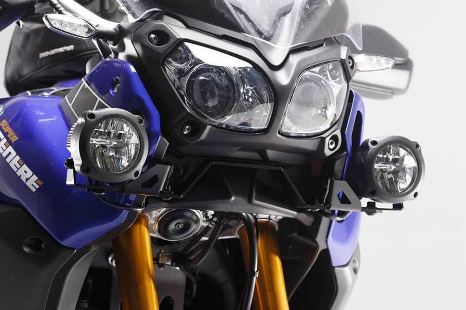 HAWK LED Nebelscheinwerfer-Set Schwarz. Yamaha XT 1200 Z Super Tenere (13-).