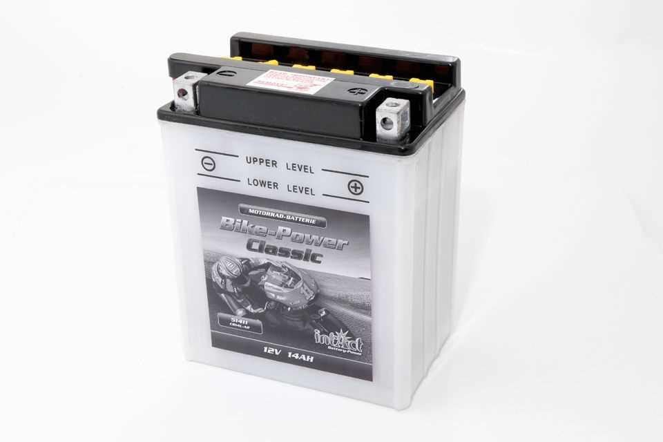 Intact Bike Power Batterie CB 14L-A2 mit Säurepack