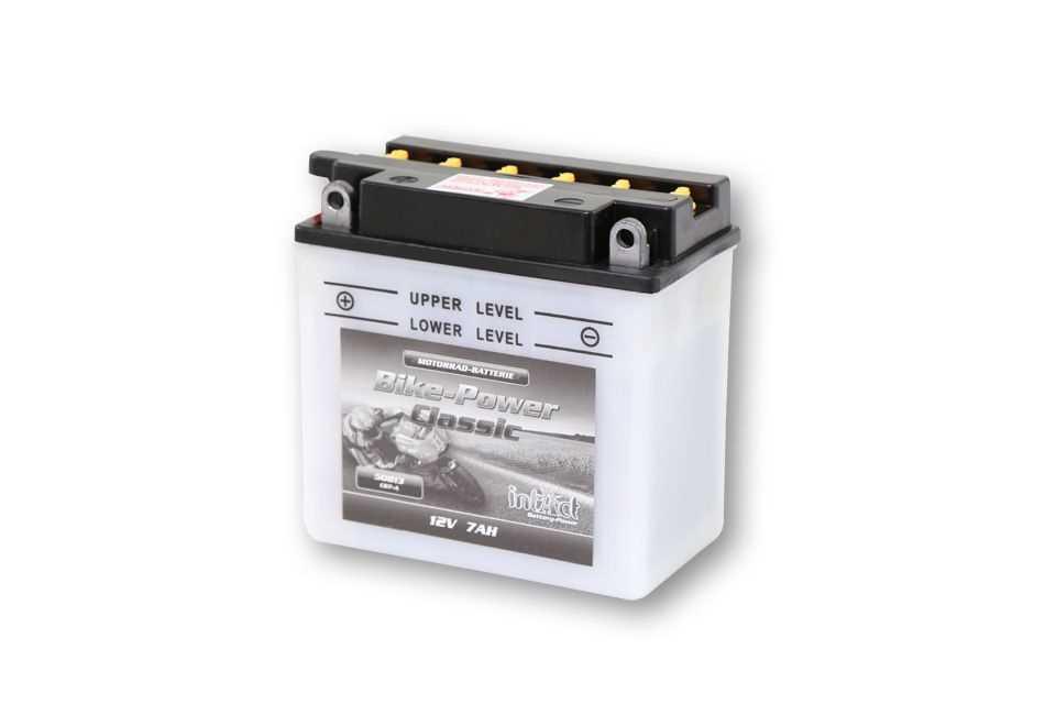 Intact Bike Power Batterie CB 7-A mit Saeurepack