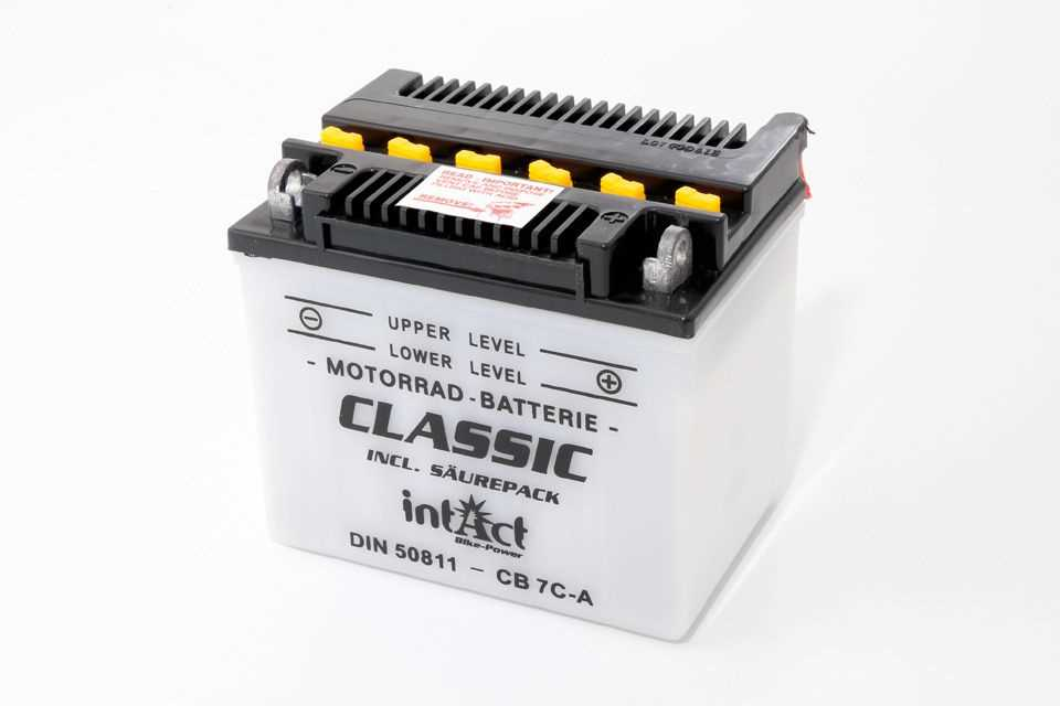 Intact Bike Power Batterie CB 7C-A mit Säurepack