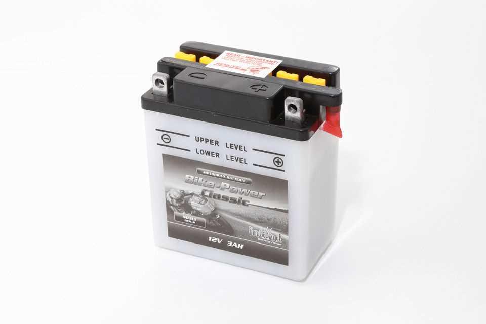 Intact Bike Power Batterie CB3L-B mit Säurepack