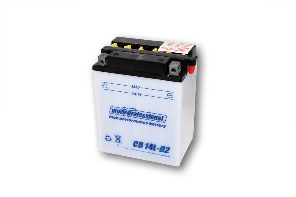Moto Professional Batterie CB 14L-B2 mit Säurepack