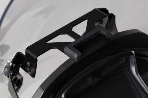 QUICK-LOCK GPS-Halter Schwarz. Honda VFR800X Crossrunner (15-).