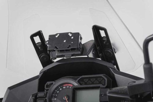 QUICK-LOCK GPS-Halter Schwarz. KAWASAKI Versys 1000