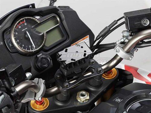 QUICK-LOCK GPS-Halter Schwarz. Vibrationsgedämpft.
