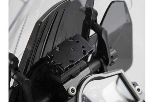 QUICK-LOCK GPS-Halter. Schwarz. KTM 1290 Super Adventure (15-).