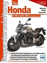 Reparaturanleitung Honda NC 700 S/X