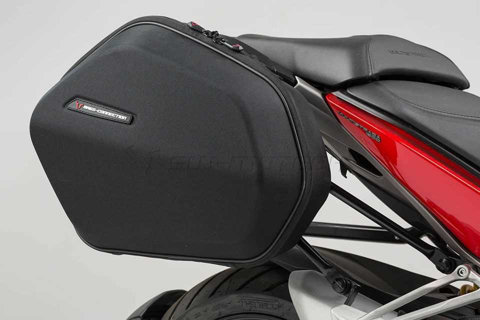 AERO ABS-Seitenkoffersystem ABS/600D HCF Polyester. Multistrada 1200 (15-).