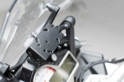 QUICK-LOCK GPS-Halter Schwarz. BMW S 1000 R (14-) / S 1000 XR (15-).