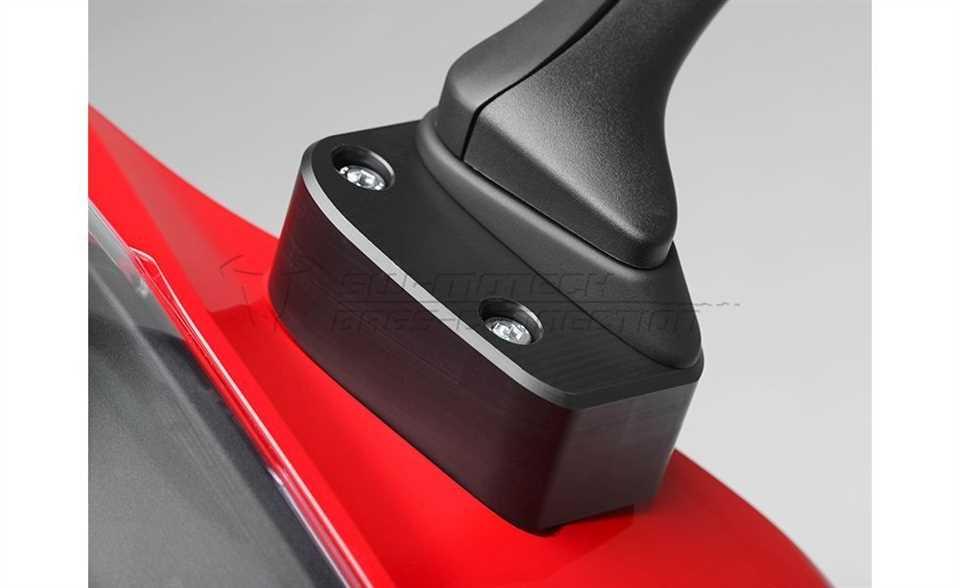 Spiegelverlängerung Honda VFR800F / VFR1200F / CBR1000RR Fireblade.