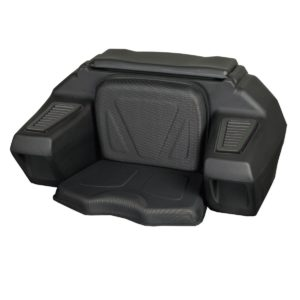 ATV REAR LOUNGER W / HELMET STORAGE