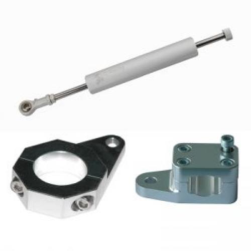LQ Lenkungsdämpfer m. 7 Klicks einstellbar für Yamaha usw. von LQ Racing bei Road Monkeys